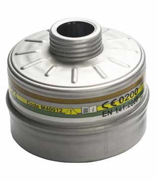 CBRN gas mask filter