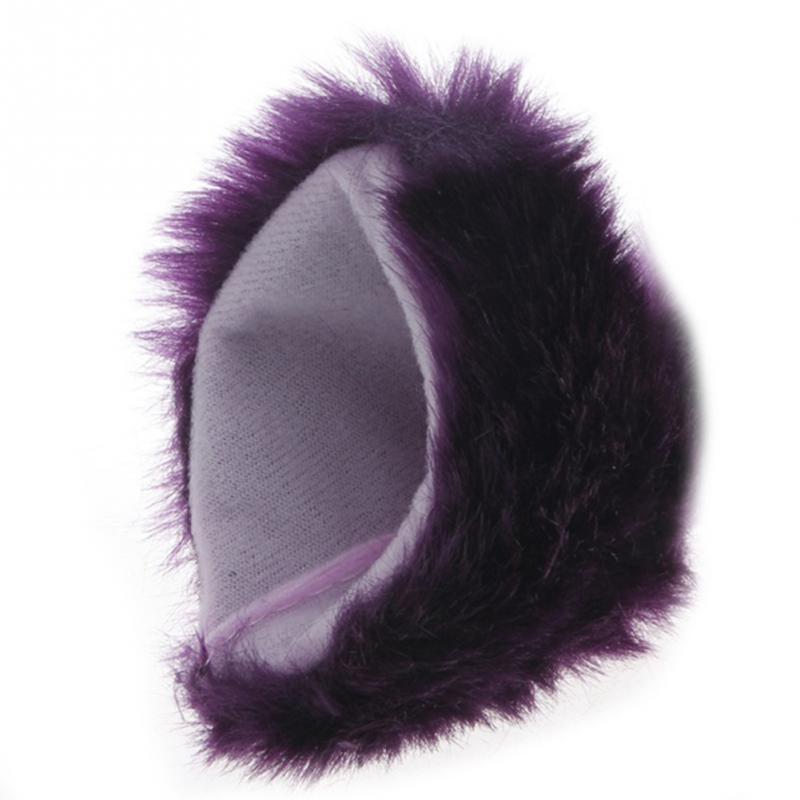 Lolita Anime Cosplay Long Fur Fox Ears Hair Clip Party Neko Cat Ear Dress Hair Accessories #734 5