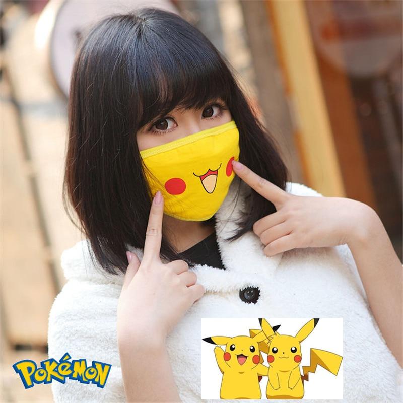 Anime pikachu Pokemon masken frauen männer erwachsene cosplay Requisiten kawaii maske Kleidung zubehör 1