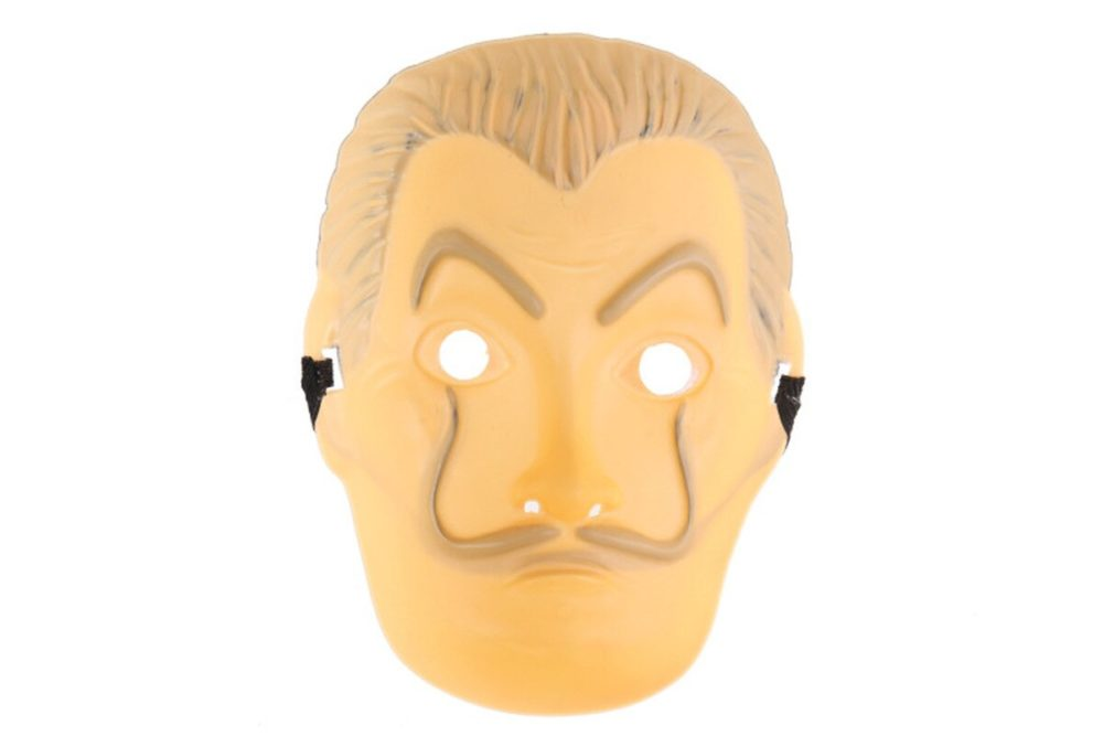 Comedy Master La Casa De Papel Dali Mask Halloween Masquerade Cosplay Funny Accessories 5