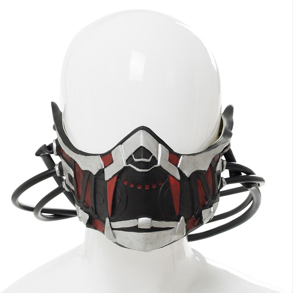 Code Vein Cosplay Mask Mia Karnstein Cosplay Helmet Mask Props Halloween Carnival Accessories 3