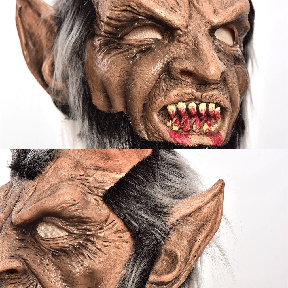 Lucifer Face Mask Devil Cosplay Masks Anime Mascarillas Halloween Demon Latex Masques Terror Costumes Props Masquerade Helmets 6