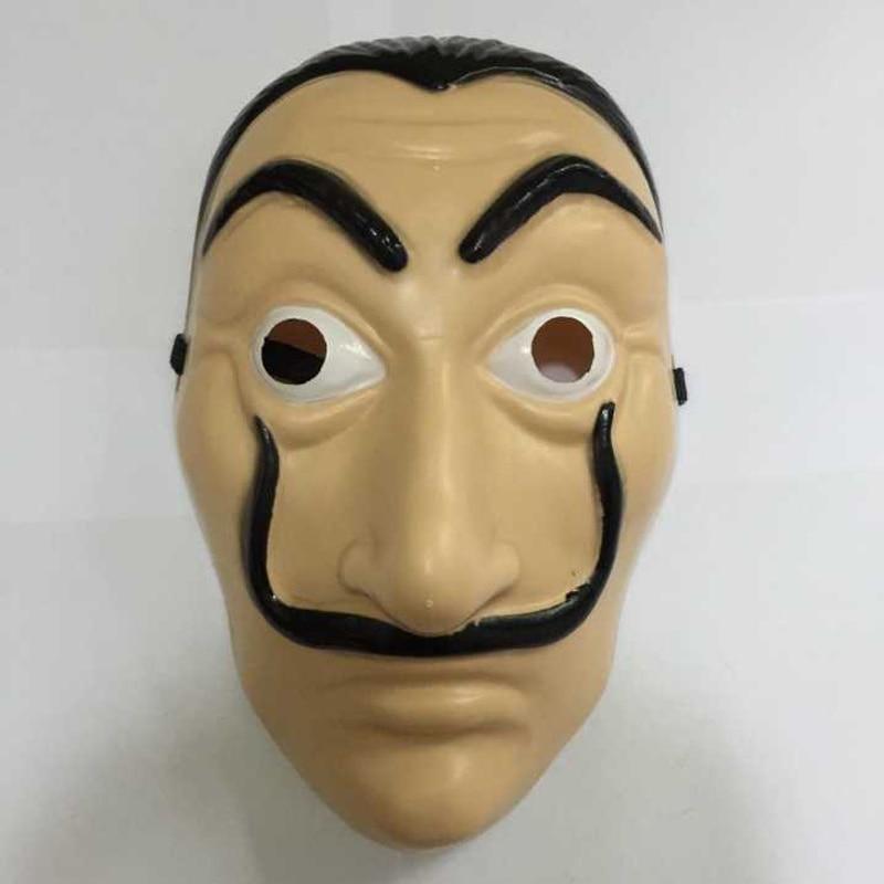 Comedy Master La Casa De Papel Dali Mask Halloween Masquerade Cosplay Funny Accessories 1
