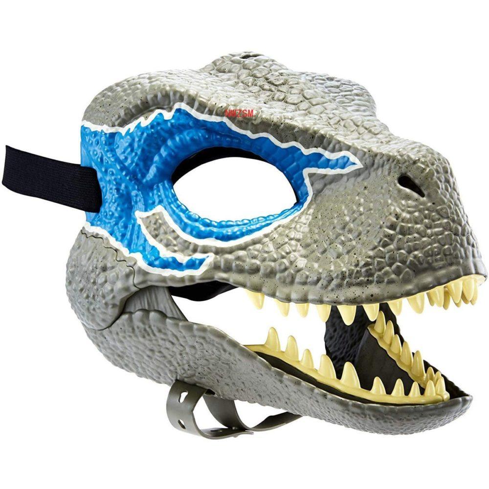 Dinosaur World Mask with Opening Jaw Tyrannosaurus Rex Halloween Cosplay Costume Kids Party Carnival Props Full Head Helmet 1