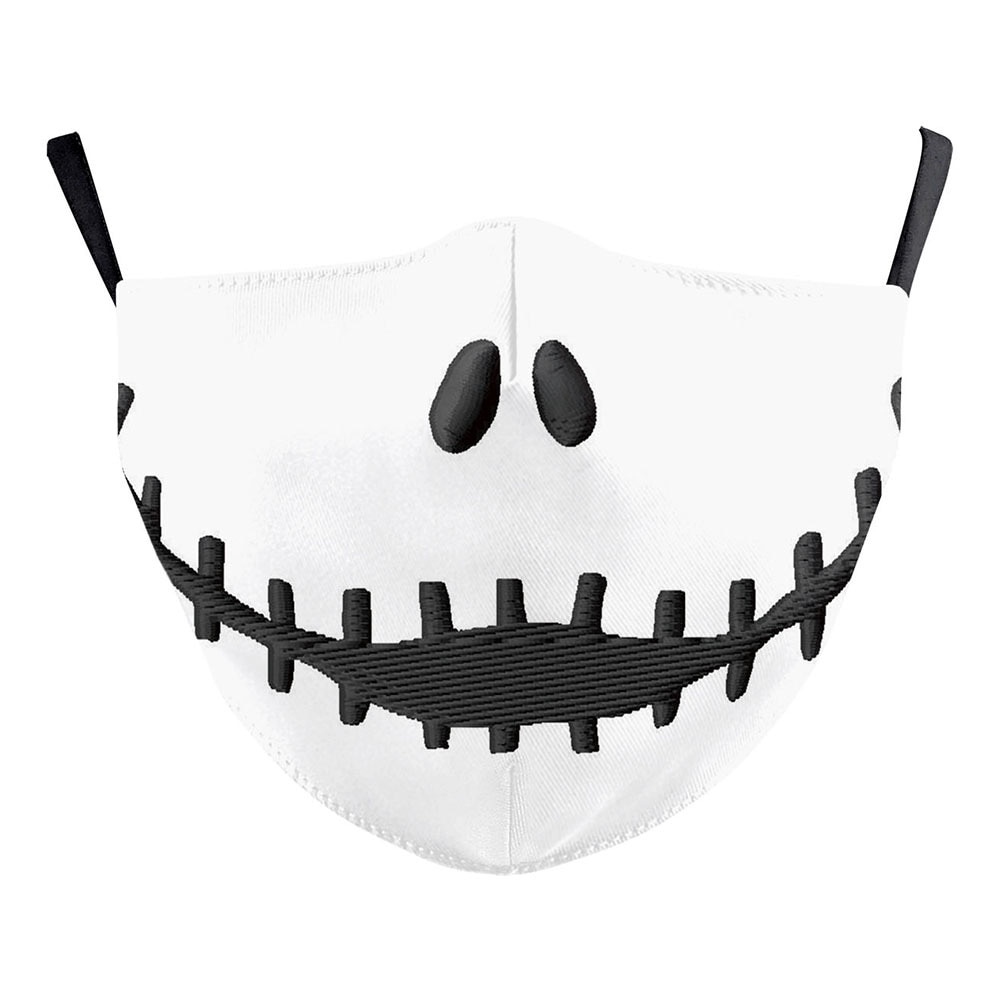 Halloween Jack Skellington The Nightmare Before Christmas Cosplay Masks Sally Adult Party Carnival Street Sports Dust-proof Mask 4