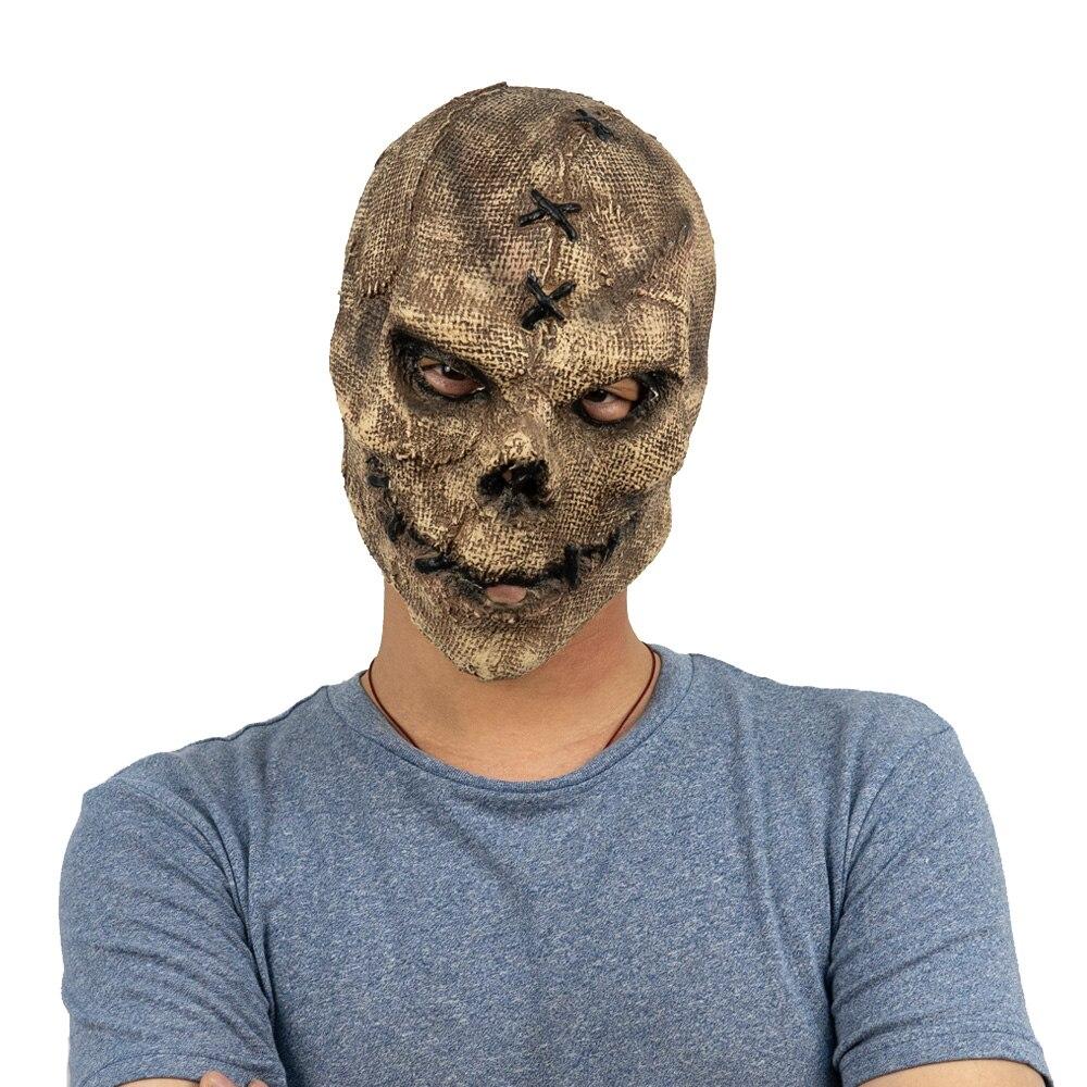Horror Killer Skull Mask Cosplay Scary Skeleton Latex Masks Helmet Halloween Party Costume Props 6