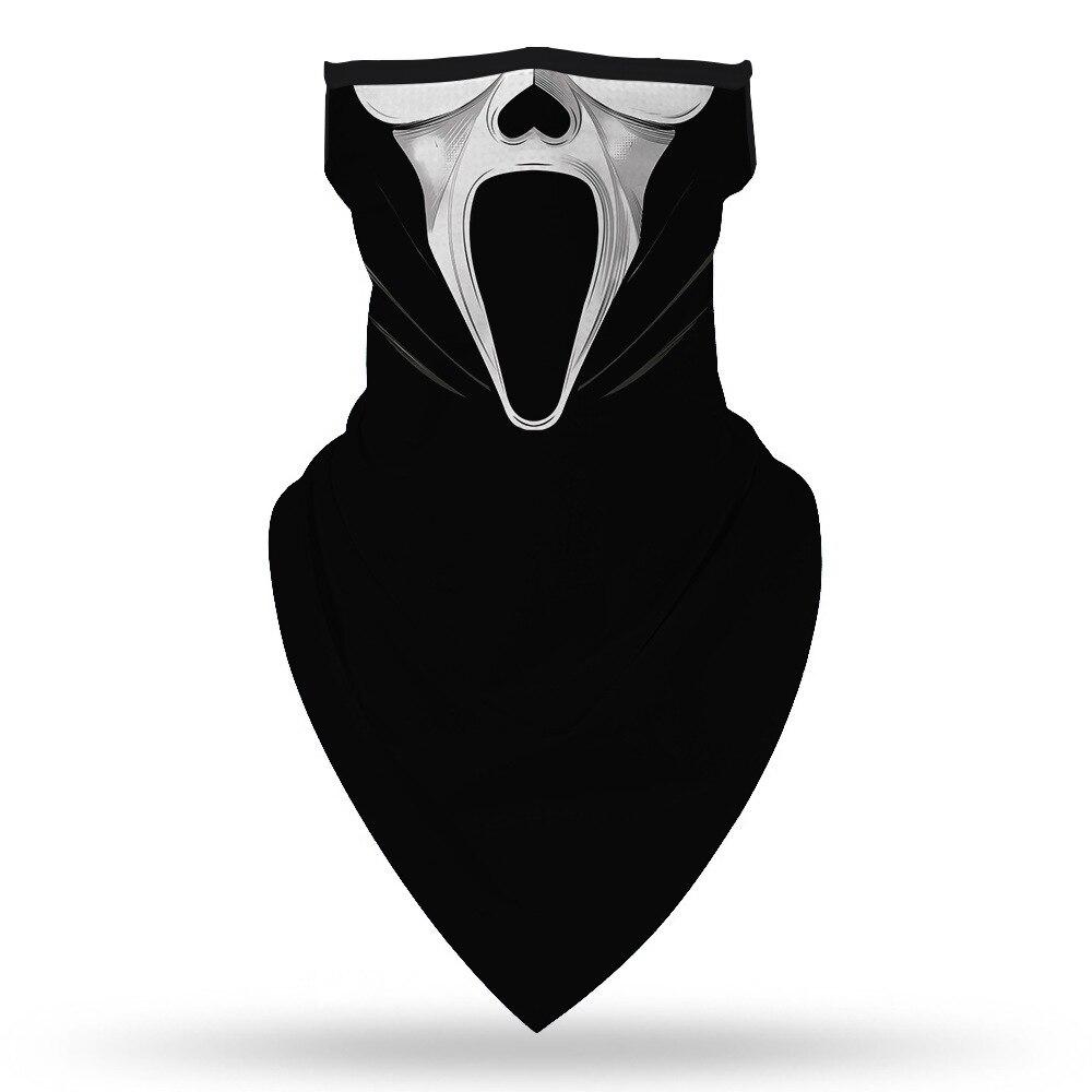 Halloween The Nightmare Before Christmas Killers Motorcycle Cycling Neck Scarf Masks Bandana Headband Cosplay Balaclava 4