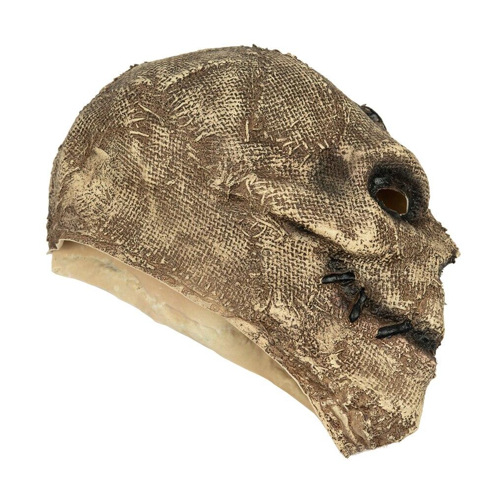 Horror Killer Skull Mask Cosplay Scary Skeleton Latex Masks Helmet Halloween Party Costume Props 3