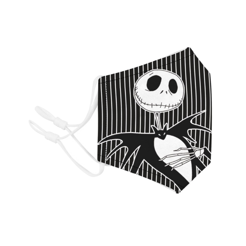 Halloween Jack Skellington The Nightmare Before Christmas Cosplay Masks Sally Adult Party Carnival Street Sports Dust-proof Mask 3