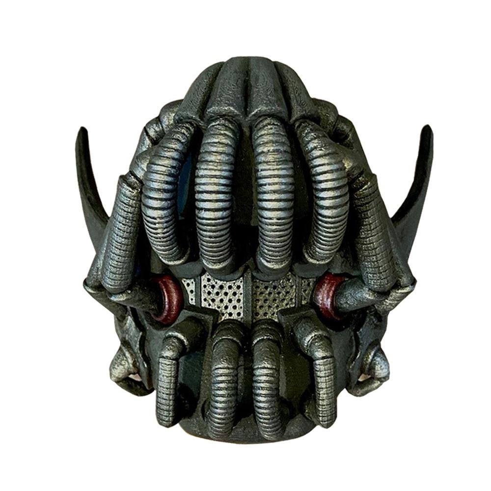 Movie The Dark Knight Batman Bane Mask Cosplay Props Latex Masks Halloween Helmets Mascarillas 2