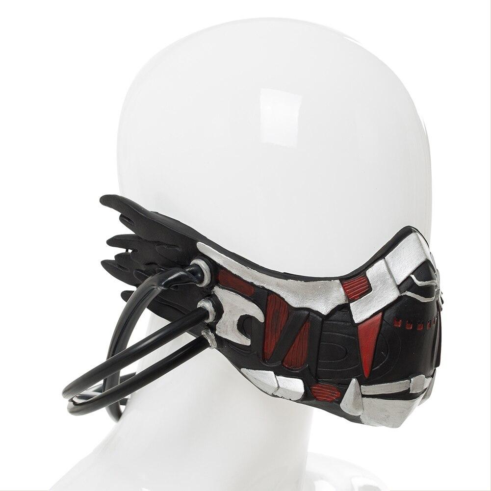 Code Vein Cosplay Mask Mia Karnstein Cosplay Helmet Mask Props Halloween Carnival Accessories 4