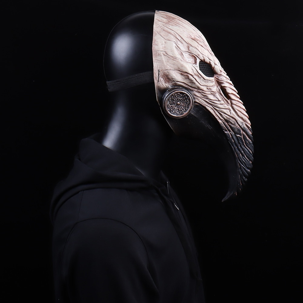 Steampunk Plague Doctor Mask Cosplay Long Nose Bird Beak Latex Masks Carnival Masquerade Halloween Party Costume Props New 4