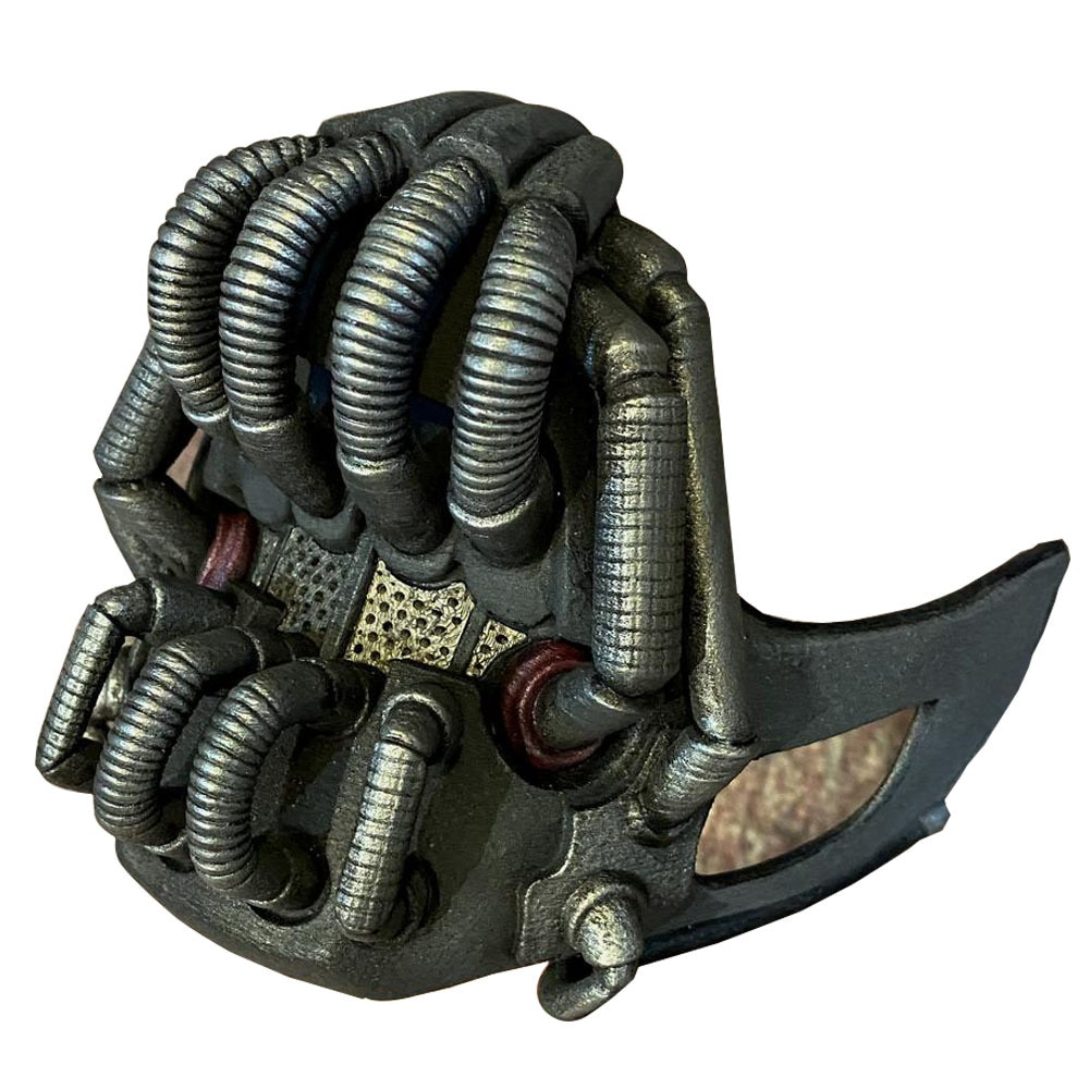 Movie The Dark Knight Batman Bane Mask Cosplay Props Latex Masks Halloween Helmets Mascarillas 3