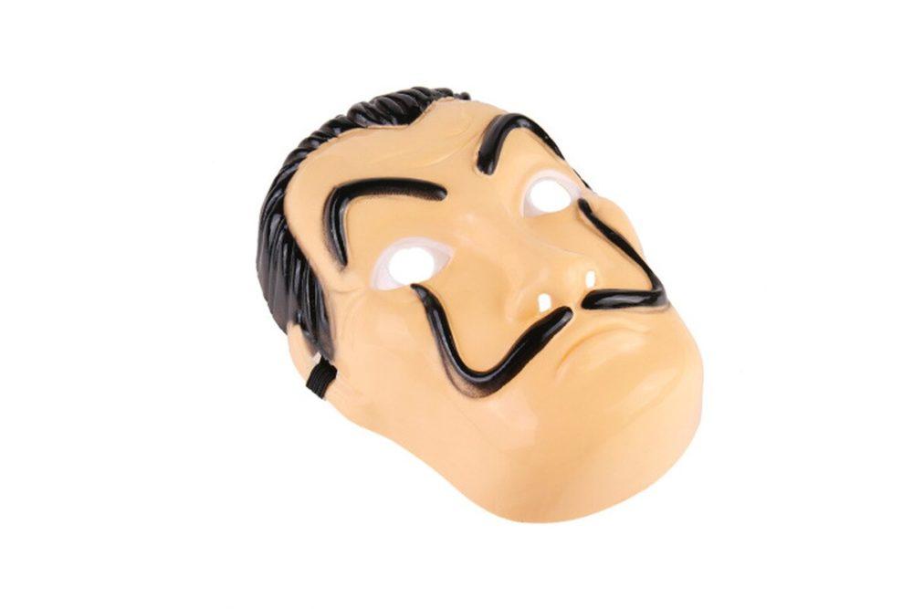 Comedy Master La Casa De Papel Dali Mask Halloween Masquerade Cosplay Funny Accessories 4