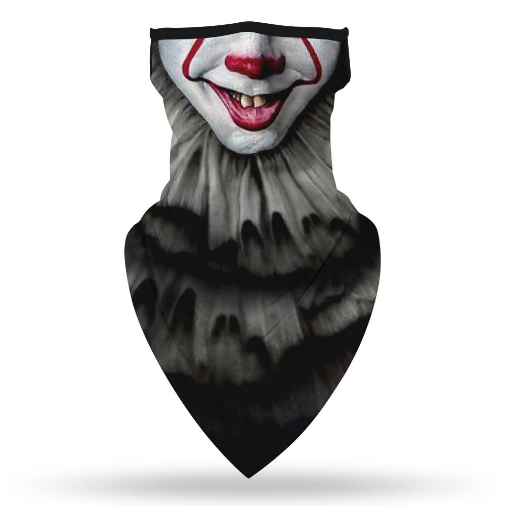 Halloween The Nightmare Before Christmas Killers Motorcycle Cycling Neck Scarf Masks Bandana Headband Cosplay Balaclava 6