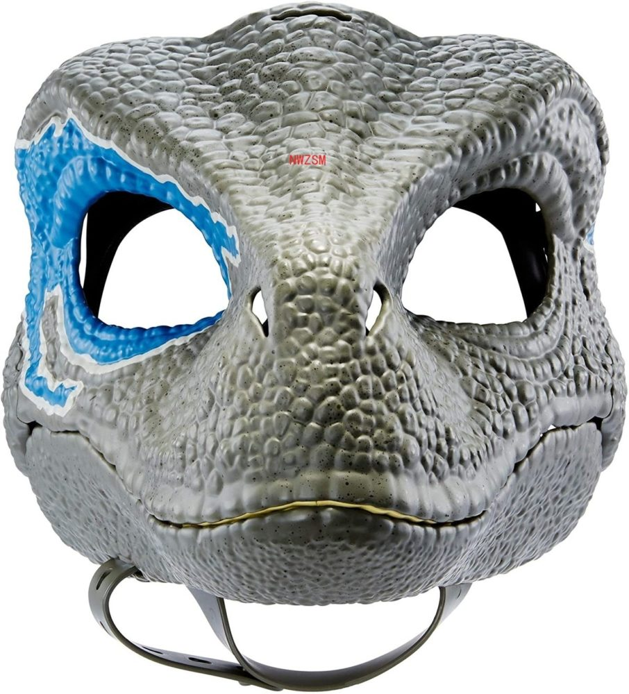 Dinosaur World Mask with Opening Jaw Tyrannosaurus Rex Halloween Cosplay Costume Kids Party Carnival Props Full Head Helmet 4