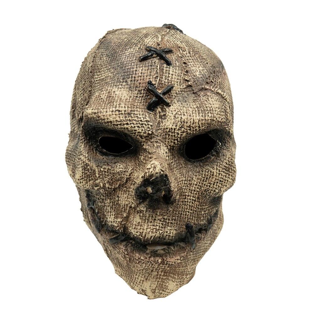 Horror Killer Skull Mask Cosplay Scary Skeleton Latex Masks Helmet Halloween Party Costume Props 2
